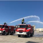 Reparti zjarrfikës i APD në mbështetje të emergjencave në qytet