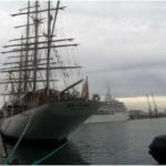 """Kroçera """"Sirena"""" dhe veliera """"Sea Cloud"""" u ankoruan sot ne kalatat 4 dhe 5"""