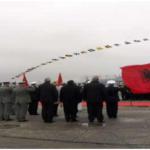 Kalata 5, ceremoni e përcjelljes së ushtarakëve të Flotës Detare për në