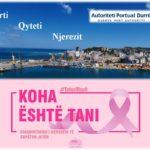 """APD: Punonjësit e Autoritetit Portual Durrës i bashkohen fushatës sensibilizuese kundër kancerit të gjirit """"Tetori Roze"""""""