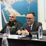 Ambasadori Italian, Fabrizio Bucci, viziton për herë të parë Portin e Durrësit/ 10 shkurt 2020