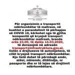 MIE/Njoftim i rëndësishëm për transportin e mallrave