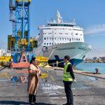 Balluku inspekton masat në Portin e Durrësit: Vijon pa ndërprerje puna me përpunimin e anijeve tregtare, futen 60% e produkteve ushqimore, që vijnë në vendin tonë