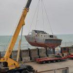 10 vite pas dëmtimit, zhvendoset nga Porti i Durrësit motovedeta R 124