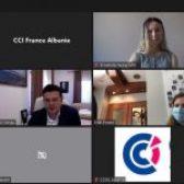Kreu i APD-së merr pjesë në konferencën online të CCI France/ 10 korrik 2020