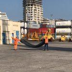 Porti i Durrësit në funksion të rindërtimit/ 02 mars 2021