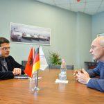 Ambasadori gjerman viziton Portin e Durrësit, në fokus thellimi i bashkëpunimit mes palëve/ 16 prill 2021