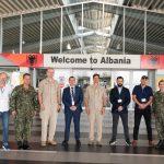 Delegacioni i KFOR, vizitë në Portin e Durrësit/ 17 shtator 2021